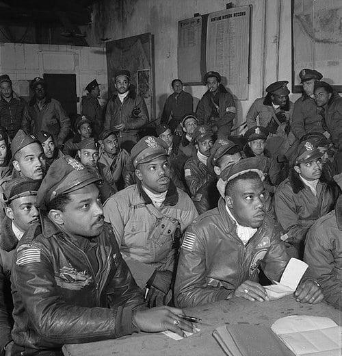 49.Tuskegee Airmen