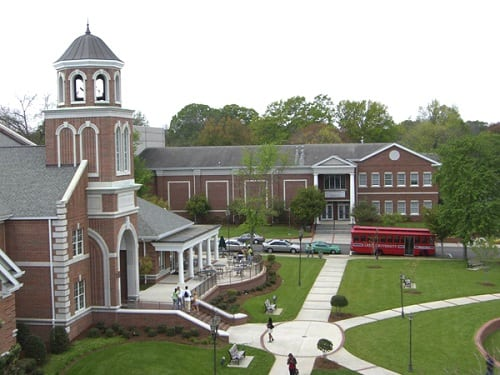 17. Lee University - Cleveland, Tennessee