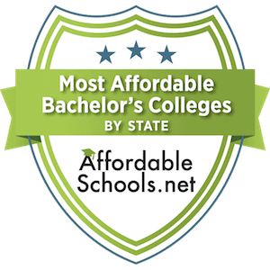 affordable schools state rankings badge