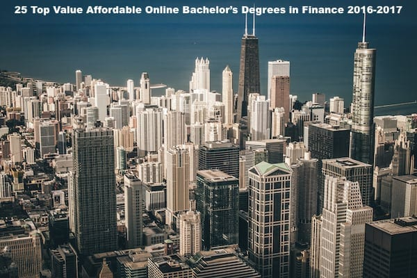 Finance top degrees of 2017
