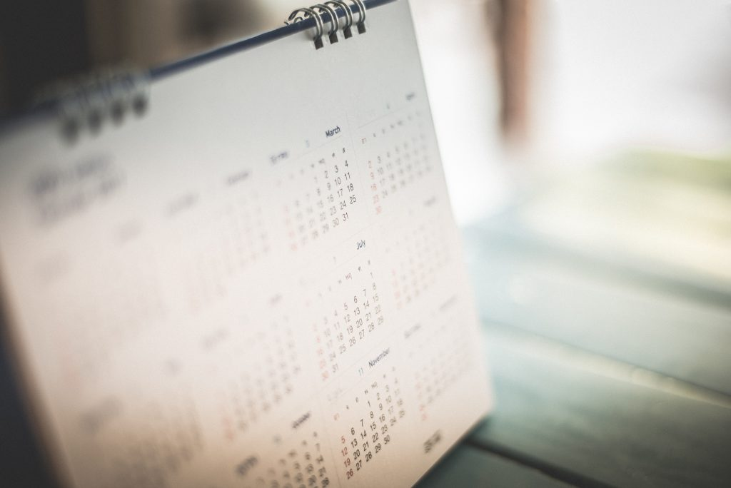 This image has an empty alt attribute; its file name is Calendar1-1024x684.jpg